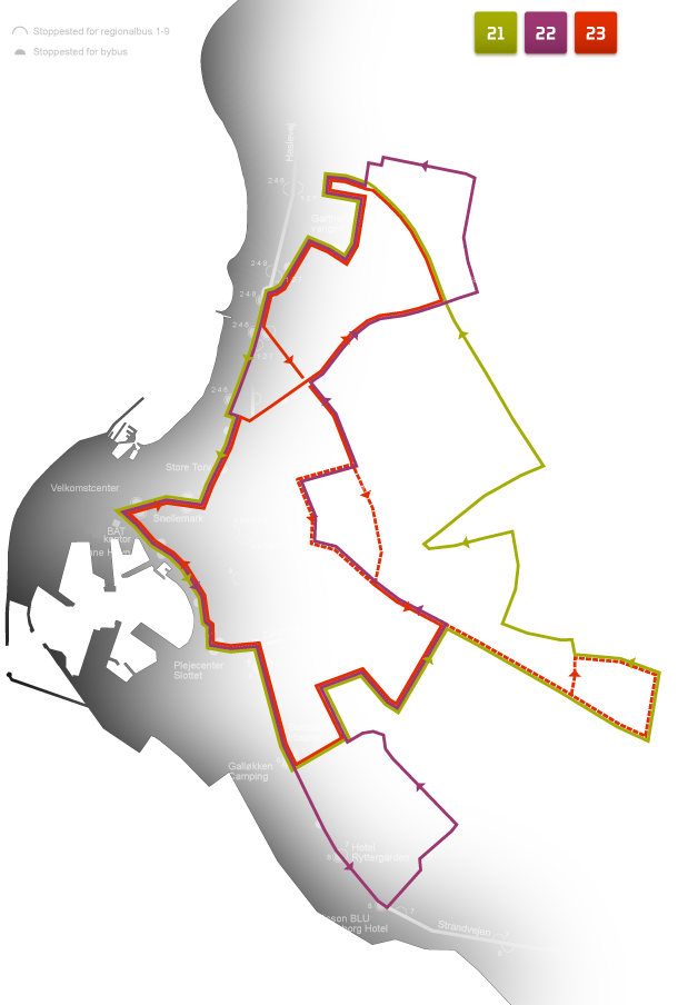 rejse plan bus